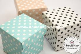 polka dot gift boxes 2 x 2 x 2 favor boxes with lid as low as rm0 53 paper boxes