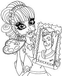 abbey bominable 13 wishes coloring pages