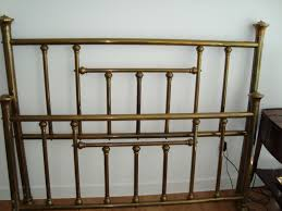 Headboards Queen Size Bed by Beautiful Brass Headboard Queen Best Images About Bedroom Navy And