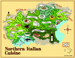 Trieste Italy Map by