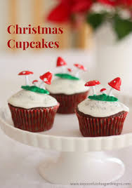 christmas spice cupcakes a spoonful of sugar