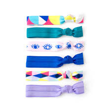 hair ties elastic hair ties headbands bobby pins tie dye ponytail bracelets