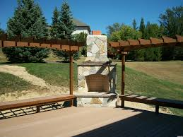 southeastern michigan outdoor living spaces outdoor fireplaces
