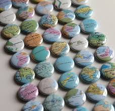 Map Favors by Your Best Wedding Wedding Favors For The Who Travels Map