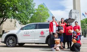 lexus jobs calgary canada basketball and toyota announce partnership canada basketball