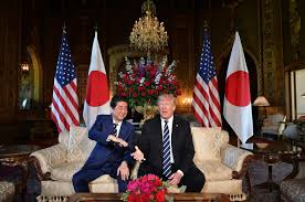 is trump at mar a lago plugs mar a lago during japanese pm s visit