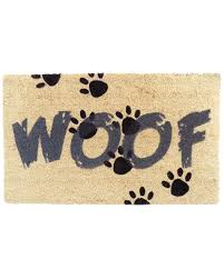 doormat funny spotted this outdoor woof door mat on rue la la shop quickly