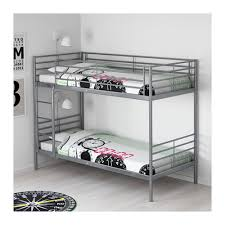 SVÄRTA Bunk Bed Frame IKEA - White bunk bed with drawers
