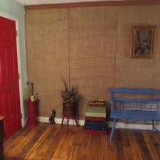 Covering Wood Paneling Red Shed Vintage Trash Talk Tuesdays Tutorial A Temporary Wall