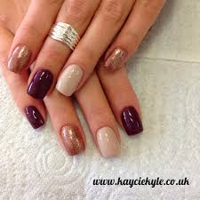 rose gold trend kaycie kyle rose gold nail designs biz style