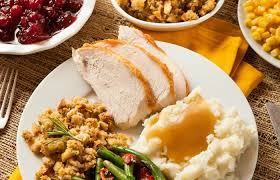 easy thanksgiving dinner and shopping list