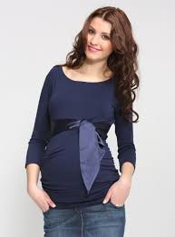 maternity tops 9fashion navy maternity top