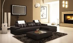 canape cuir moderne deco in canape d angle moderne cuir noir et blanc alix ii