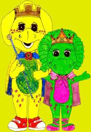 king bj and queen baby bop by bestbarneyfan on deviantart