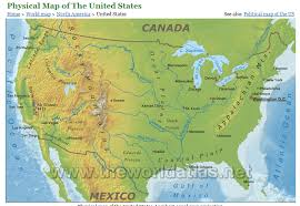 physical map of the united states physical geography map of us physical map of the united states png