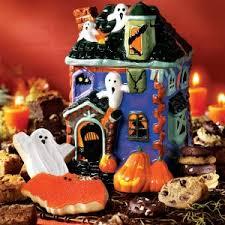 mrs fields haunted house cookie jar