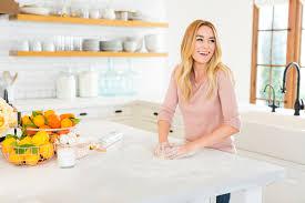 lauren conrad home tour inside the star u0027s stunning all white kitchen