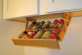 Kitchen Cabinet Spice Organizers Ultimate Kitchen Storage Under Cabinet Mini Spice Rack Kitchen