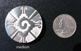 galactic butterfly hunab ku pendants in silver