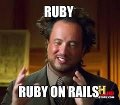 Ruby On Rails Meme - meme maker ruby ruby on rails