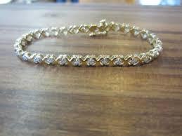 bracelet diamond ebay images Xo diamond bracelet ebay JPG