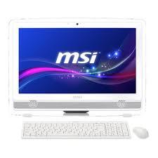 pc bureau tout en un msi ae222 234xeu ordinateur de bureau tout en un tactile 21 53 34