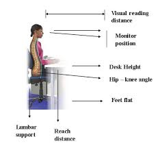 Desk Height Ergonomics Ergonomics Getting Your Study Space Right