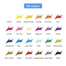 24 color art colored pencils drawing pencils artist sketch