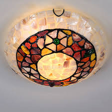 stained glass ceiling light fixtures pretty stained glass 11 8 diameter flush mount ceiling lights