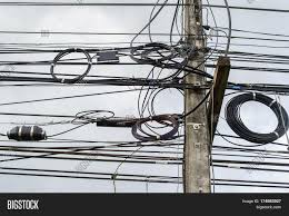 high voltage power pole wires image u0026 photo bigstock