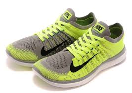 Lime Lights Shoes Retail Electric Lime Light Gray Nike Free 4 0 Flyknit Men U0027s Shoes