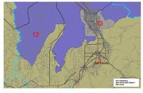 Utah County Map Utah Legislature
