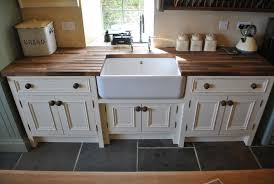 free standing kitchen sink cabinet country style sink base unit freestanding kitchen