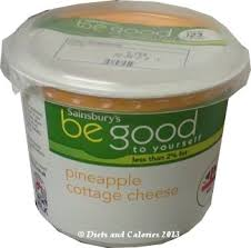 Calories In Lowfat Cottage Cheese by Diets And Calories Pineapple Cottage Cheese Be Good To Yourself
