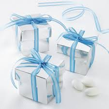 Blue Favor Boxes by Celebrate It Occasions Favor Boxes