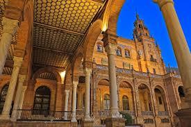 moorish architecture plaza de espana moorish revival architecture seville photo