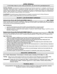Law Enforcement Resume Template Resume Format Download In Ms Word Download My Resume In Ms Word