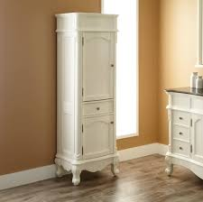 French Bathroom Decor by Bathroom French Bathroom Storage Cabinet Design In White Finish