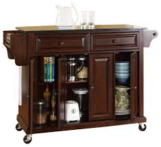 crosley furniture kitchen cart crosley furniture 52x18 solid black granite top kitchen cart crosley