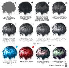 semi realism hair tutorial by kamism