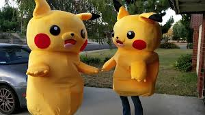 Pikachu Costume Pikachu Costume Testing Ha Ha Youtube