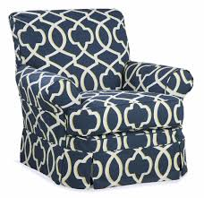 Swivel Glider Chair Nursery Custom Slipcovered Swivel Glider Chair Central Falls