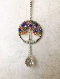 rear view mirror car charm pewter hanging sun