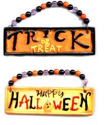 happy halloween hanging wall and door signs halloween wikii
