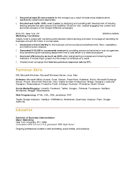 Project Coordinator Resume Sample 10 Marketing Resume Samples Hiring Managers Will Notice
