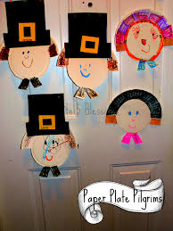 paper plate pilgrim craft learn u0026 link with linky mama to 6