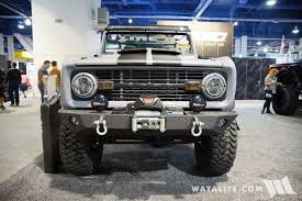 bronco car 2016 2016 sema zero to go ford bronco
