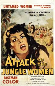 attack of the jungle women extra large movie poster image imp