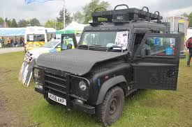 land rover truck for sale file armoured police land rover kx56 akp somerset u0026 avon
