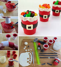 edible santa suit candy cups creative ideas
